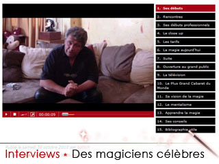 Les plus grands magiciens interviewés !