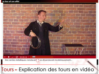 Des explication des tours de magie en vidéos